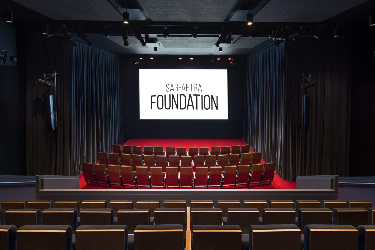 Screen Actors Guild Foundation, Screening Room