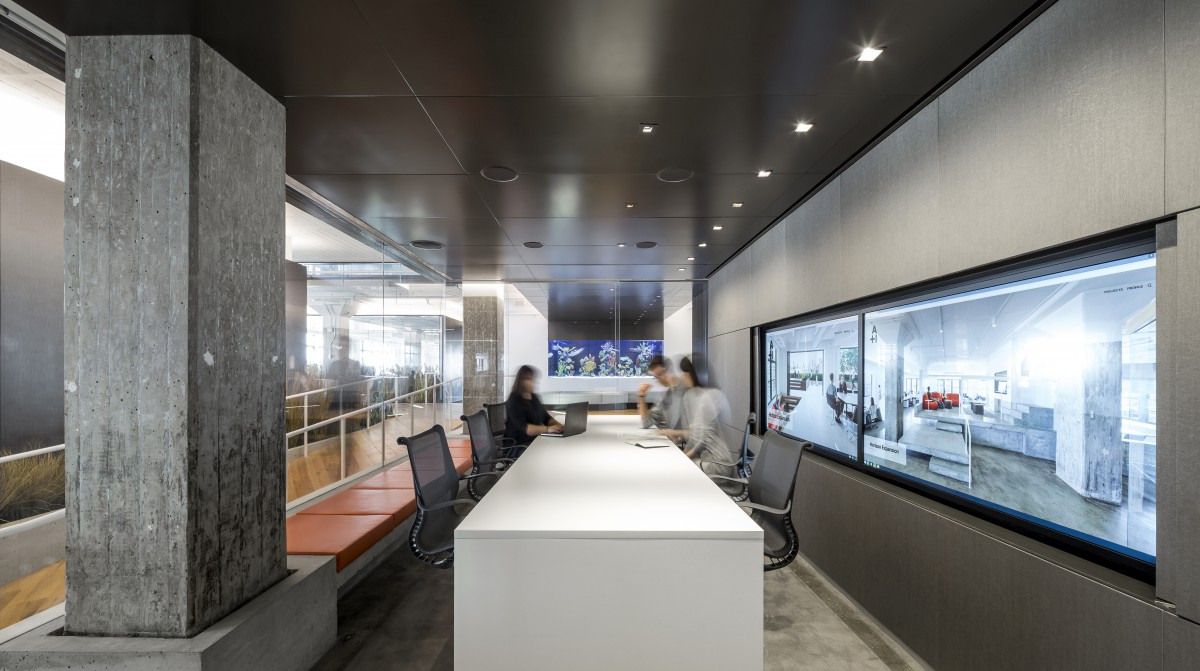 horizon media office. Client: Horizon Media Project: Office/Media Completion Date: 2015 Size: 40,000 SF Address: New York, NY Office M